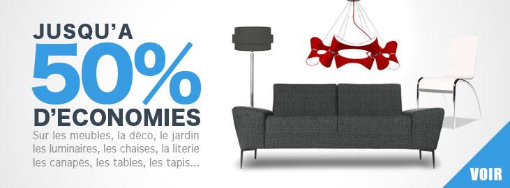 Codes promo meubles et d�co