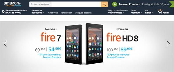 Bienvenue sur Amazon.fr