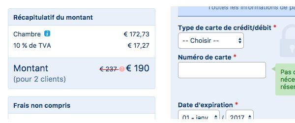 Comment utiliser un code Booking.com
