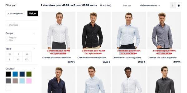La collection de prêt à porter Celio