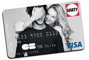La carte de paiement Darty