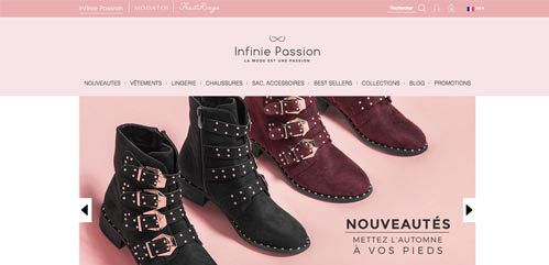 Boutique Infinie passion