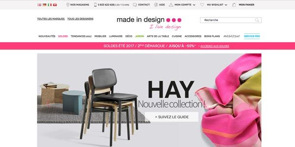 La boutique Made in design