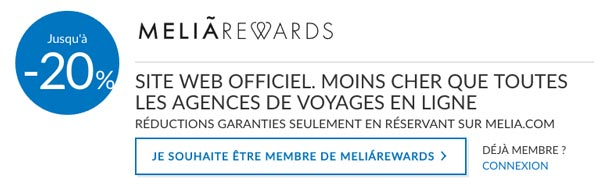 Club Melia Rewards