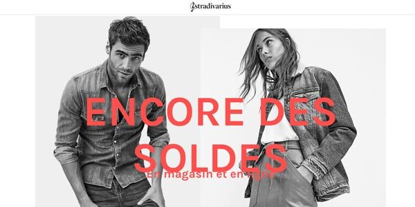 La boutique Stradivarius.com