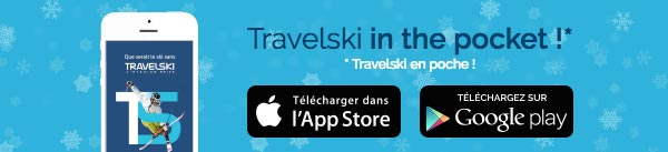 L'application mobile Travelski