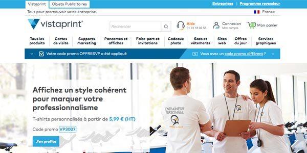 Code Promo Vistaprint 2018 60 Offert