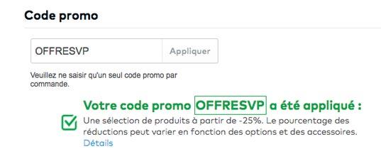 Utiliser son code promo Vistaprint