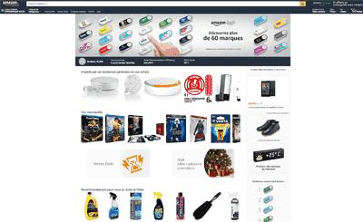 Le site Amazon