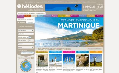 Le site Heliades