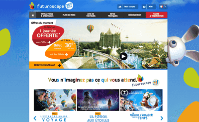 Le site Futuroscope