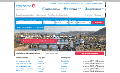 Le site Interhome