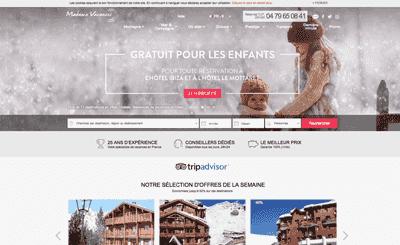 Le site Madame Vacances