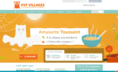 Le site VVF Villages