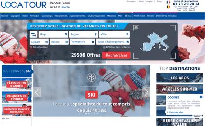 Le site Locatour