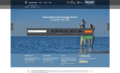 Le site Barcelo