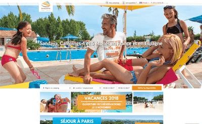 Le site Sandaya