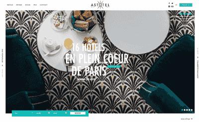 Le site Astotel