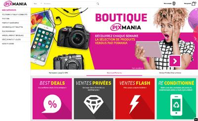 Le site Pixmania
