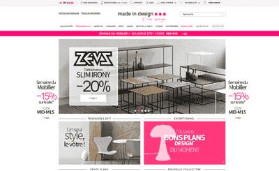 Le site Made in Design